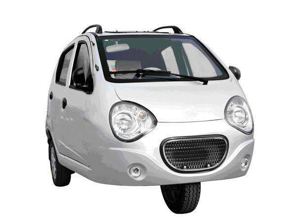3 wheel vehicle with gasoline EFI engine 600cc silvery attractive appearance