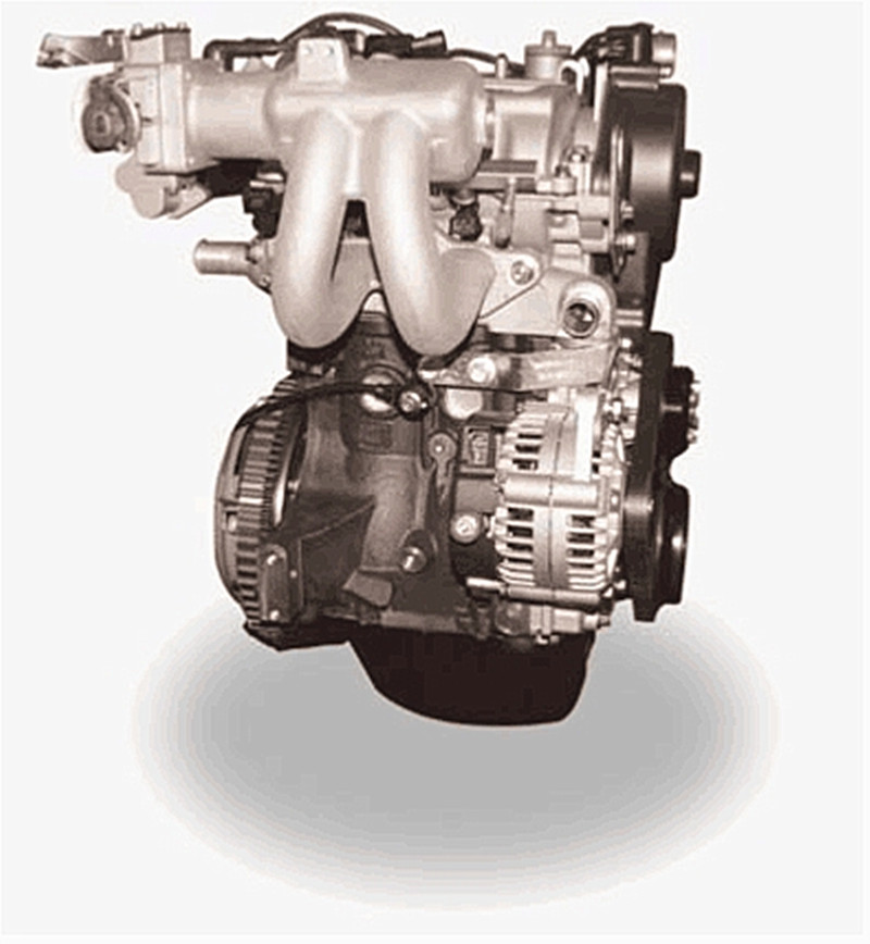 2 cylinder EFI Engine 600CC Vertical