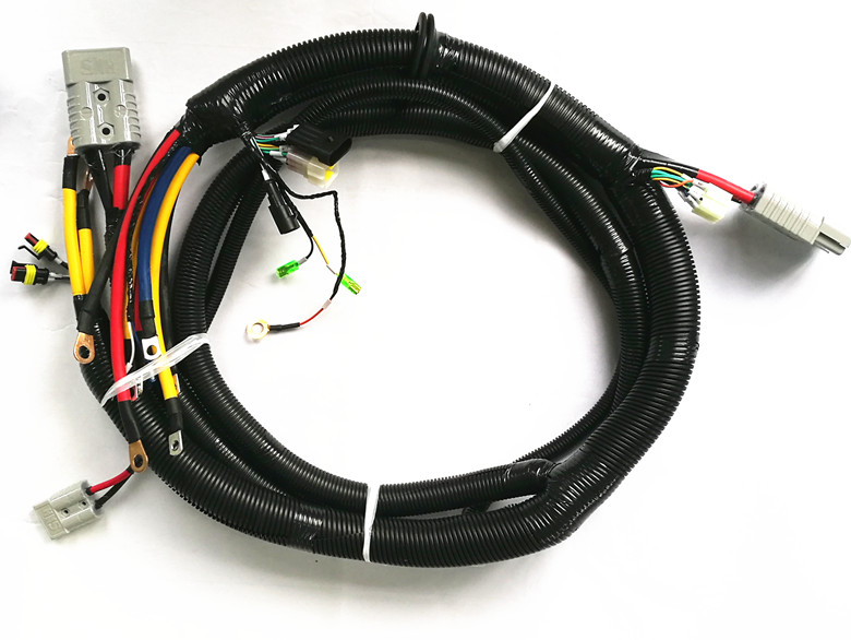 power supply connection controller wire harness - 副本